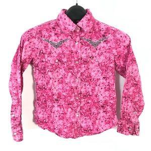 Cowgirl hardware western shirt bling
